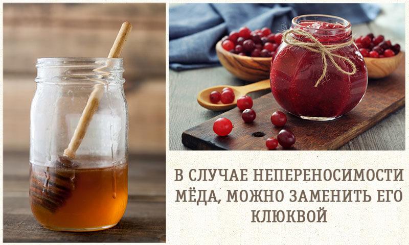 мед или клюква для рецепта с чесноком и лимоном